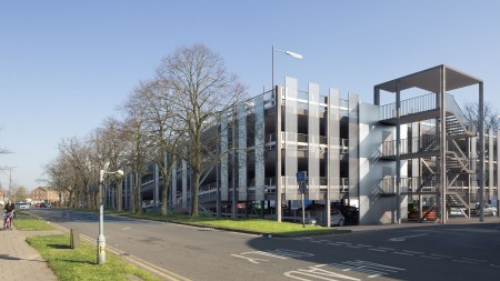 Planning Approval for Hatfield Car Park in Hertfordshire