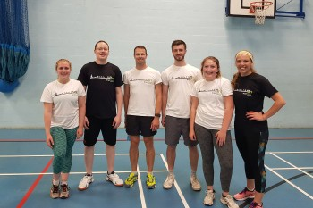 BrightSPACE Dodgeball Tournament 2019 with AECOM 4