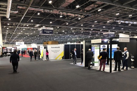 BrightSPACE at Futurebuild 2019 London ExCel