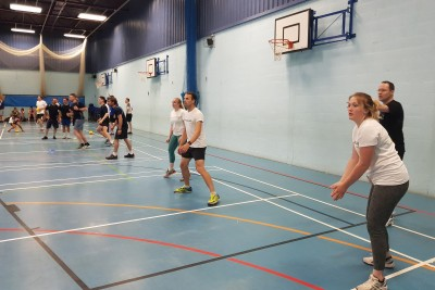 BrightSPACE Dodgeball Tournament 2019 with AECOM 2 v2